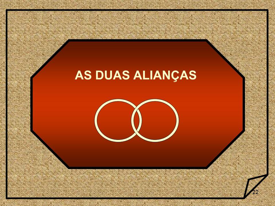 AS DUAS ALIANÇAS