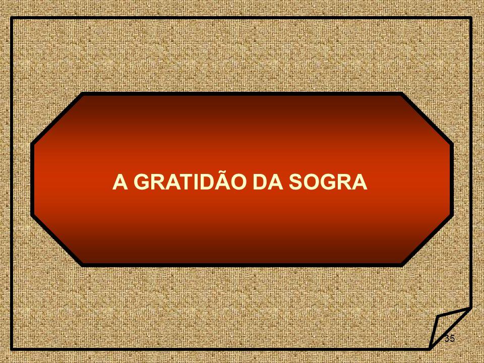 A GRATIDÃO DA SOGRA