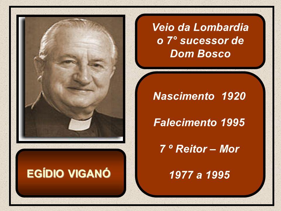 Veio da Lombardia o 7° sucessor de Dom Bosco