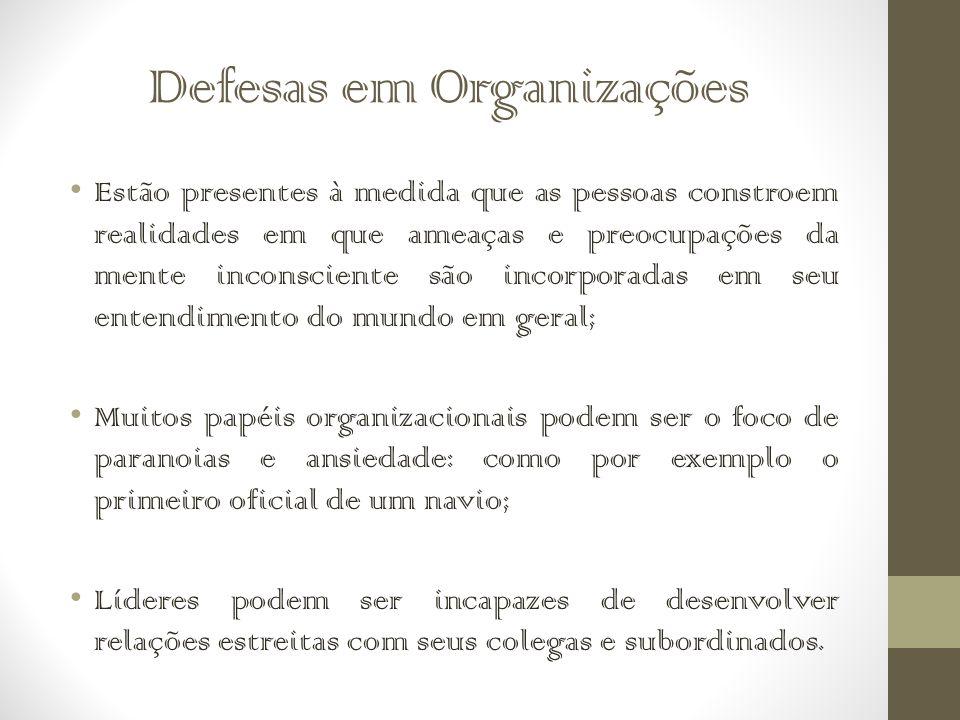 Defesas em Organizações