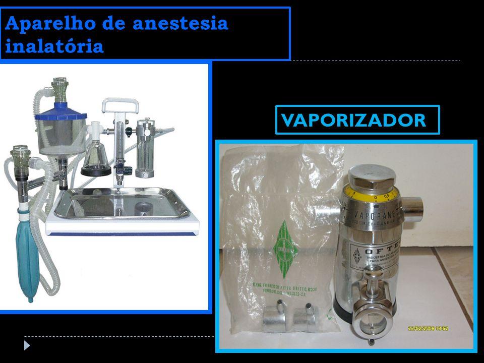 Aparelho de anestesia inalatória