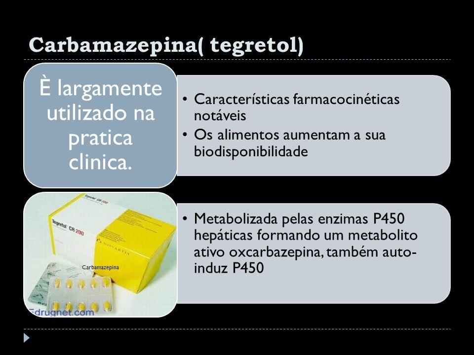 Carbamazepina( tegretol)