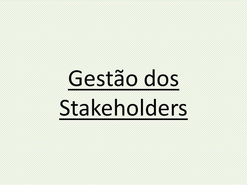Gestão dos Stakeholders