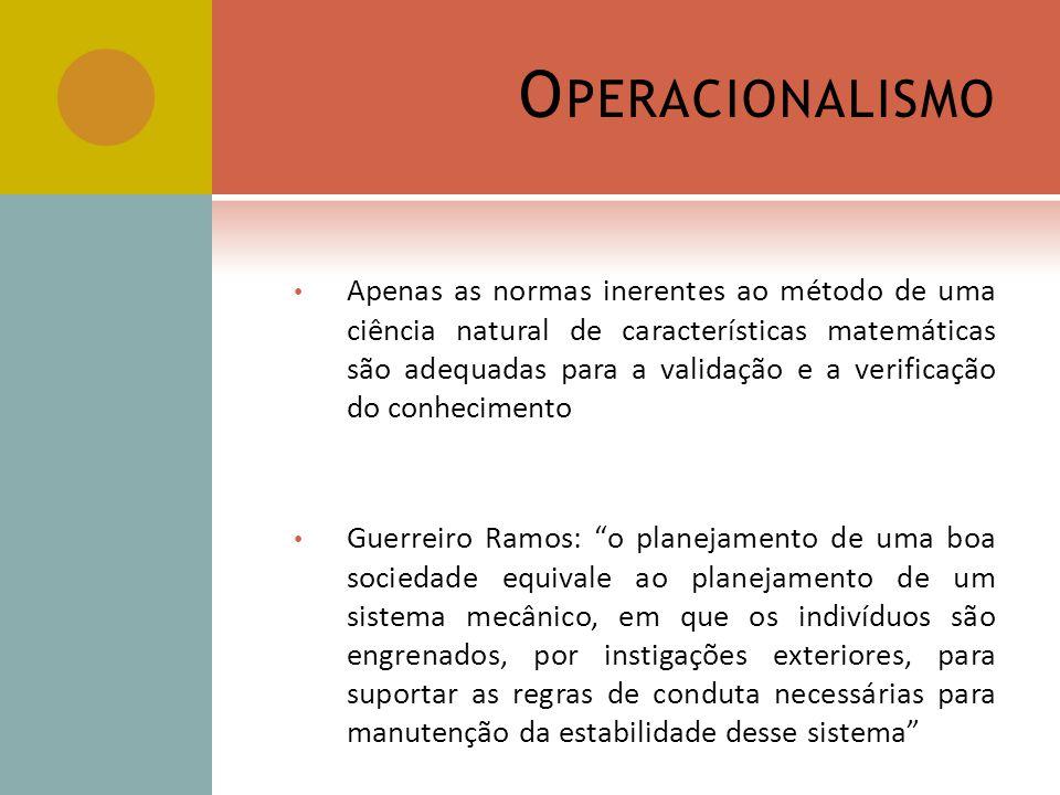 Operacionalismo