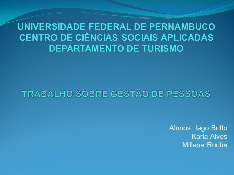 TRABALHO SOBRE GESTÃO DE PESSOAS