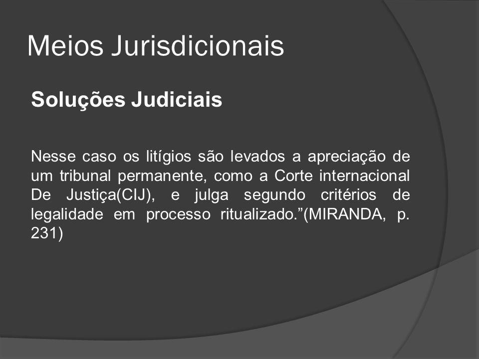 Meios Jurisdicionais Soluções Judiciais