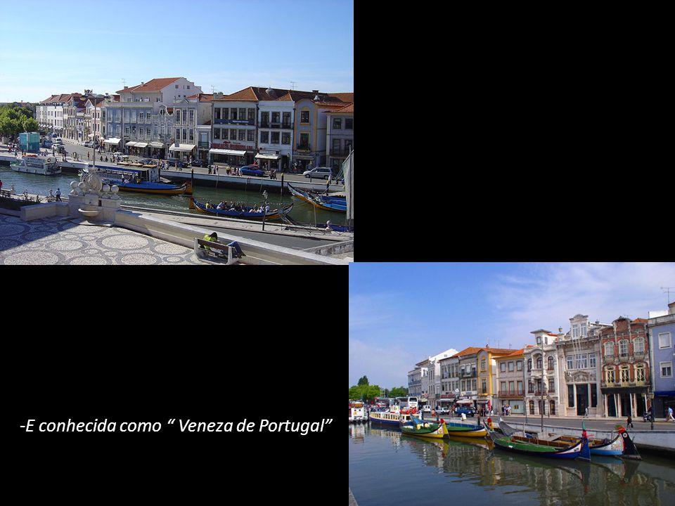 -E conhecida como Veneza de Portugal