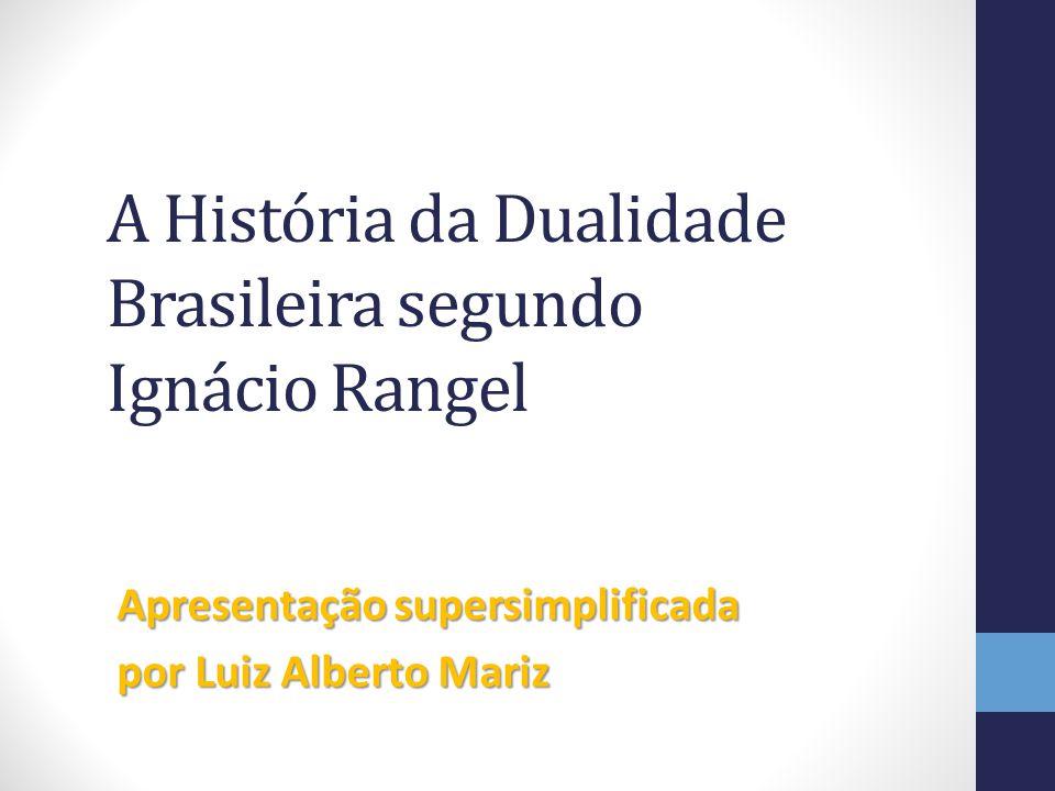A História da Dualidade Brasileira segundo Ignácio Rangel