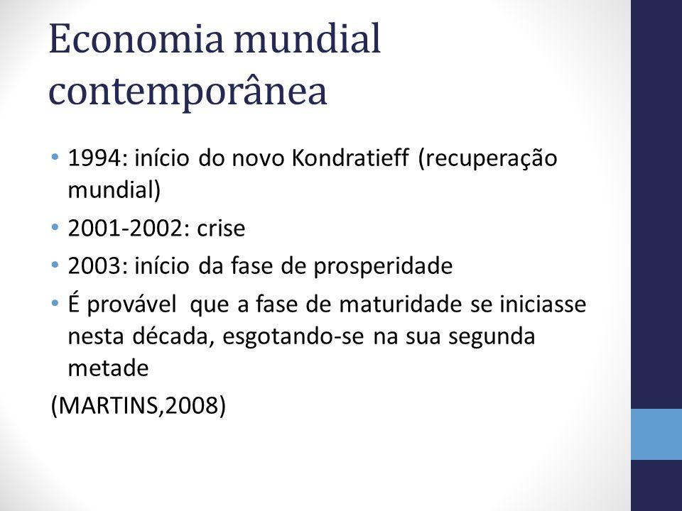 Economia mundial contemporânea
