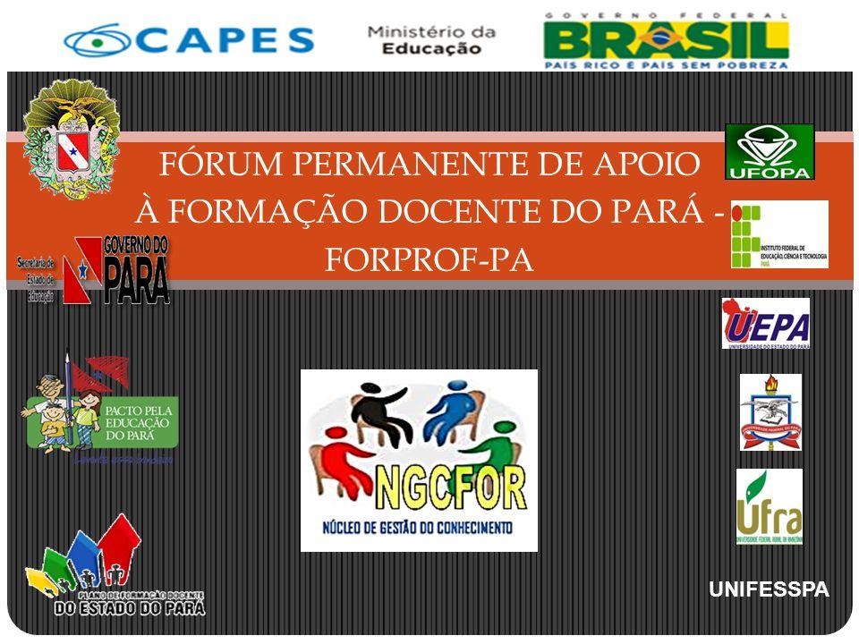 FÓRUM PERMANENTE DE APOIO À FORMAÇÃO DOCENTE DO PARÁ - FORPROF-PA