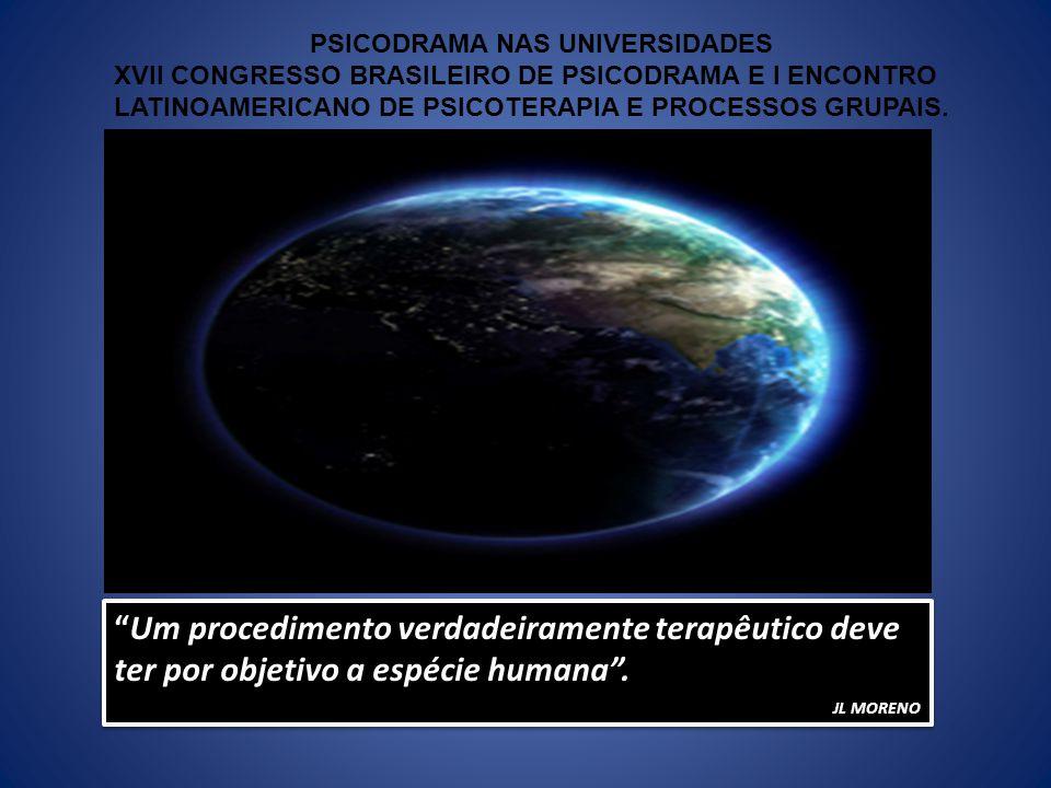 PSICODRAMA NAS UNIVERSIDADES