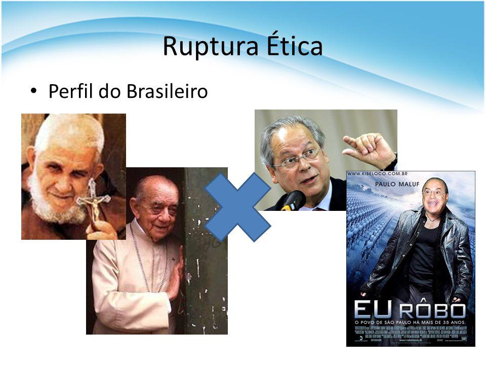 Ruptura Ética Perfil do Brasileiro