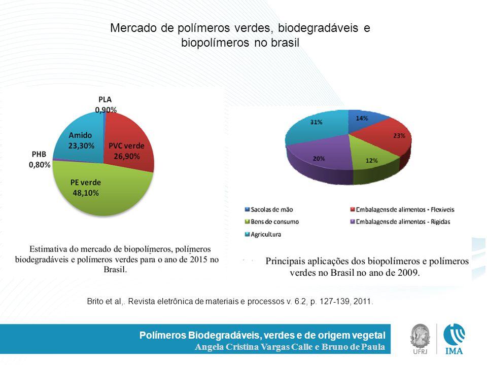Mercado de polímeros verdes, biodegradáveis e biopolímeros no brasil