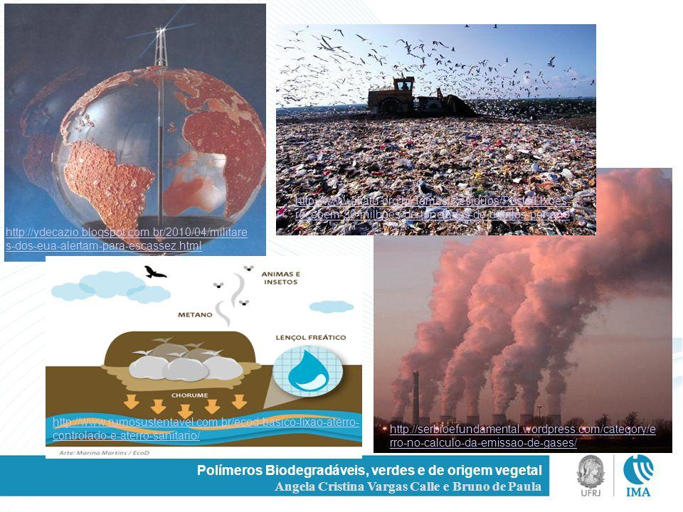 Polímeros Biodegradáveis, verdes e de origem vegetal