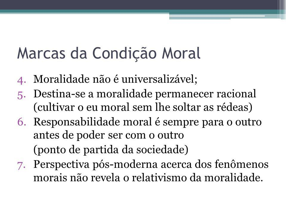 Marcas da Condição Moral
