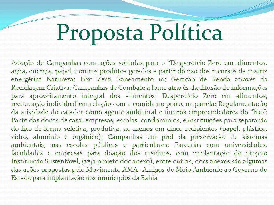 Proposta Política