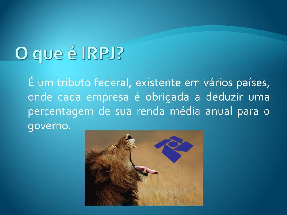 O que é IRPJ