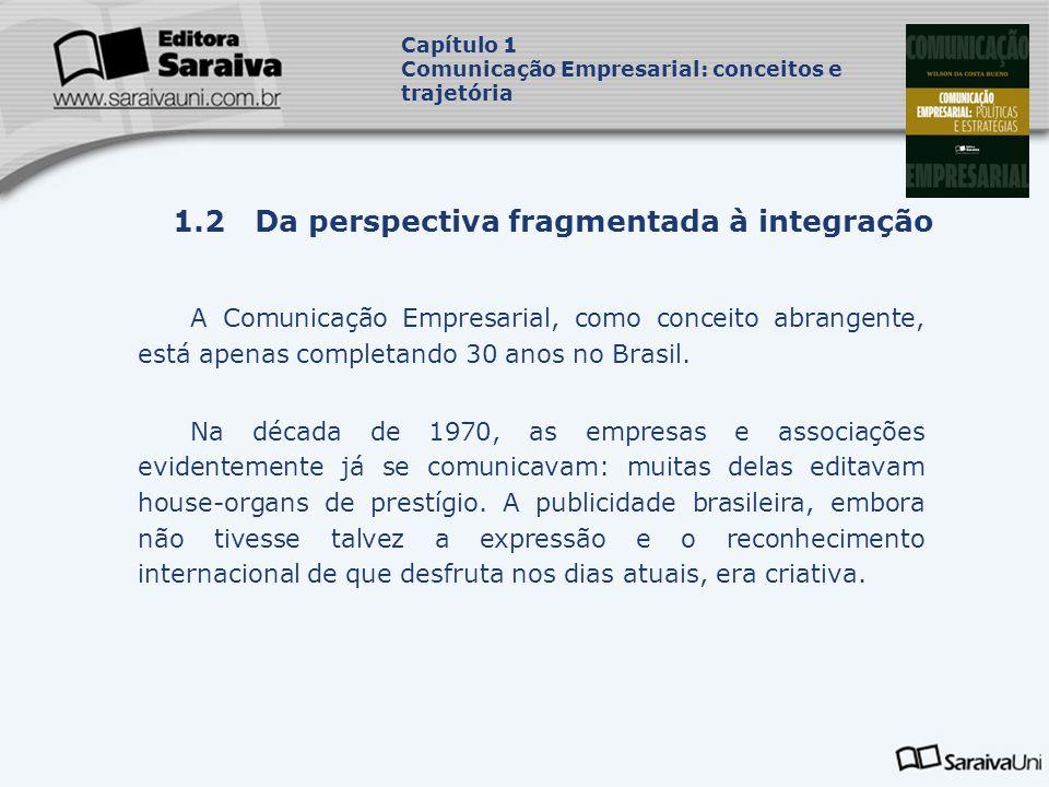 1.2 Da perspectiva fragmentada à integração