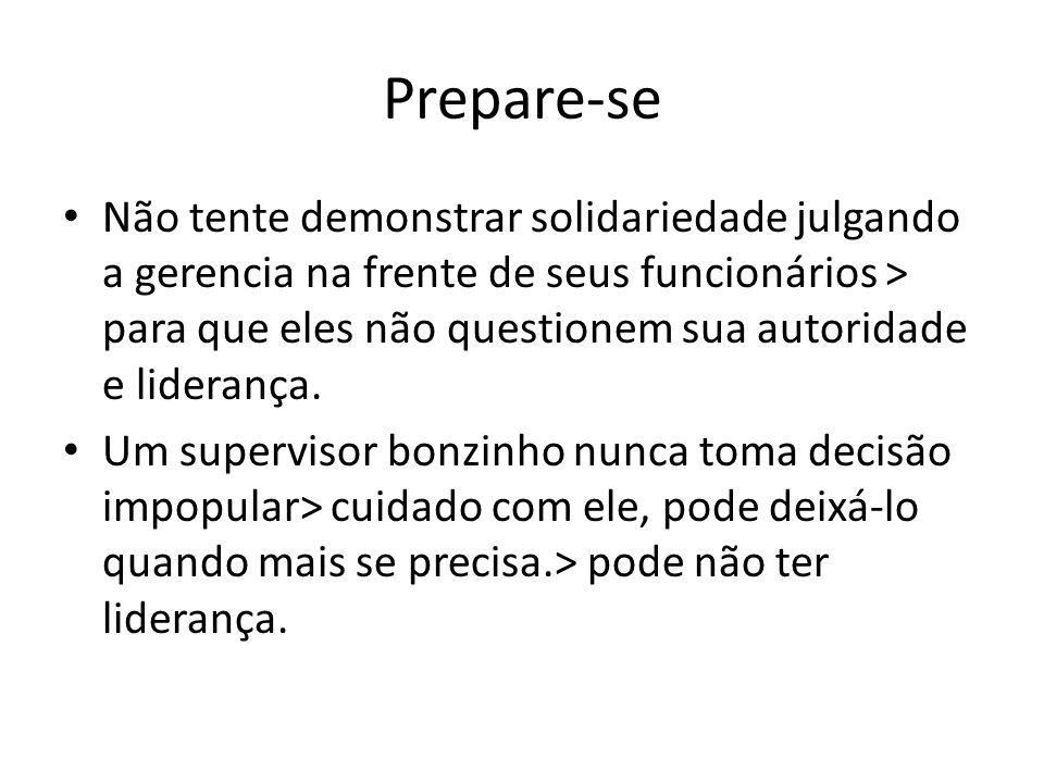 Prepare-se