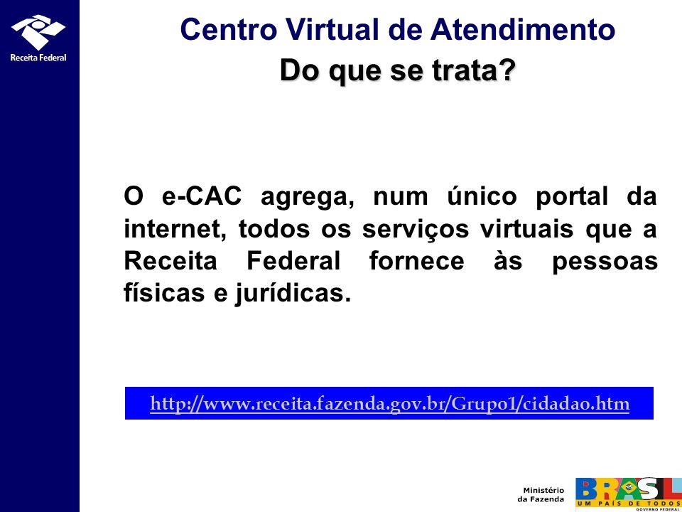 Centro Virtual de Atendimento