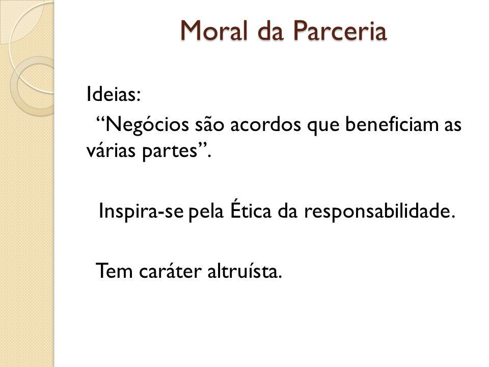 Moral da Parceria Ideias: