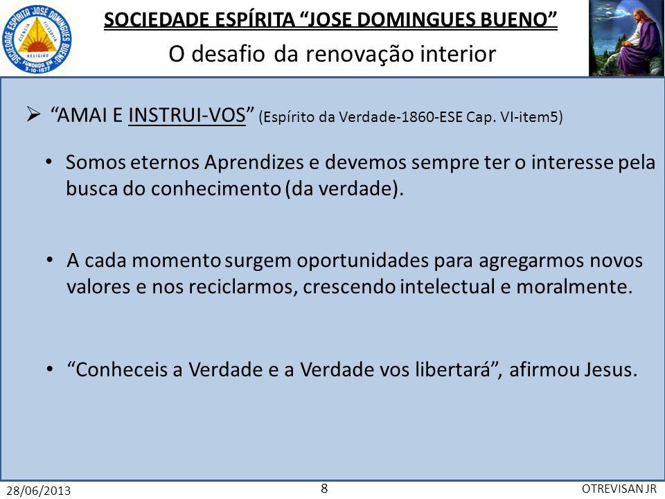 AMAI E INSTRUI-VOS (Espírito da Verdade-1860-ESE Cap. VI-item5)