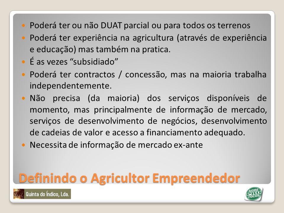 Definindo o Agricultor Empreendedor