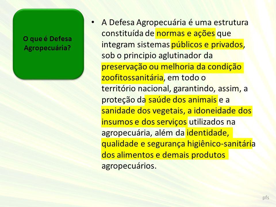 O que é Defesa Agropecuária