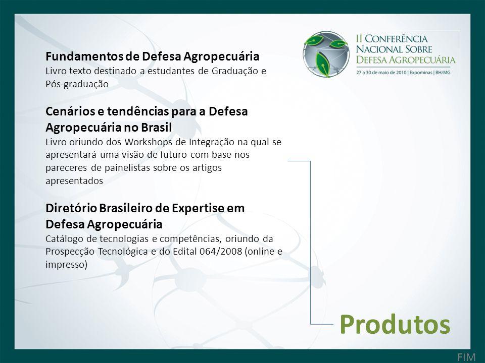 Produtos Fundamentos de Defesa Agropecuária