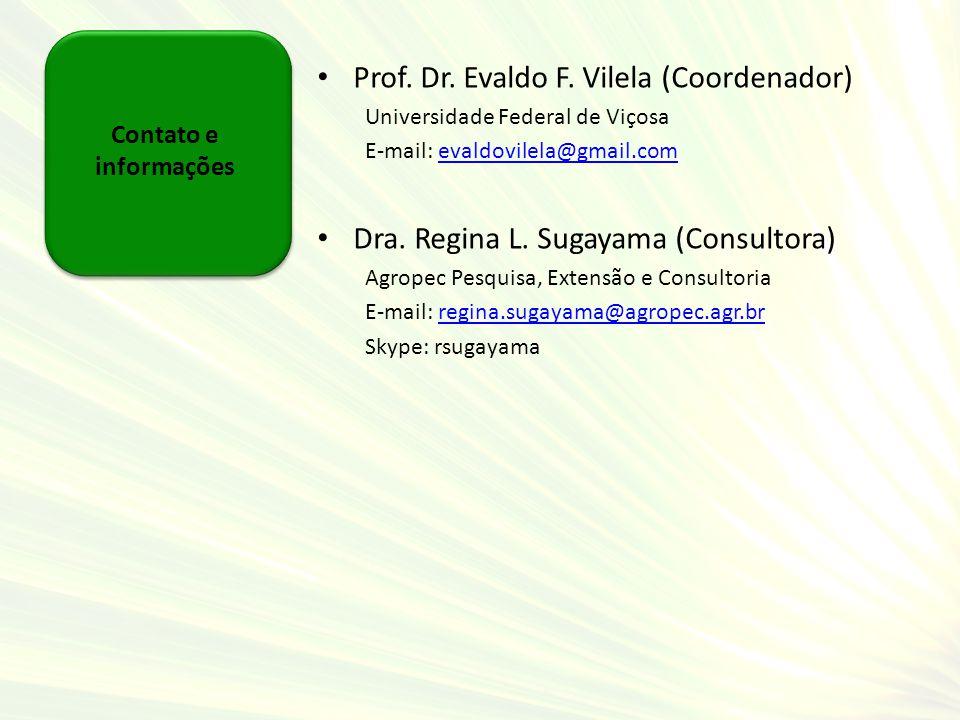 Prof. Dr. Evaldo F. Vilela (Coordenador)