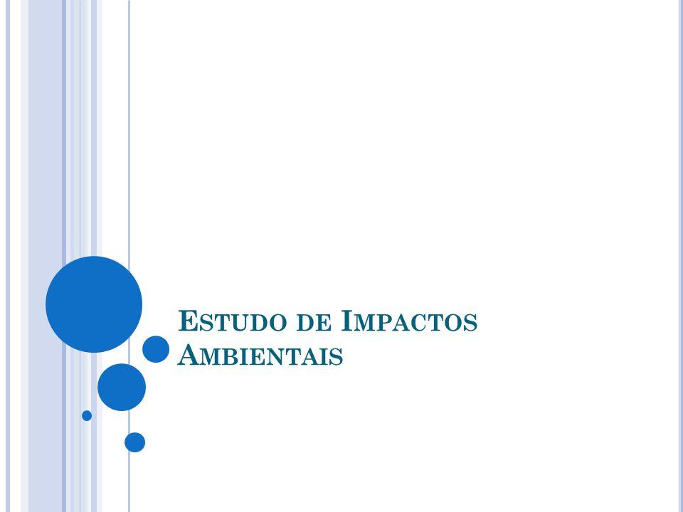 Estudo de Impactos Ambientais