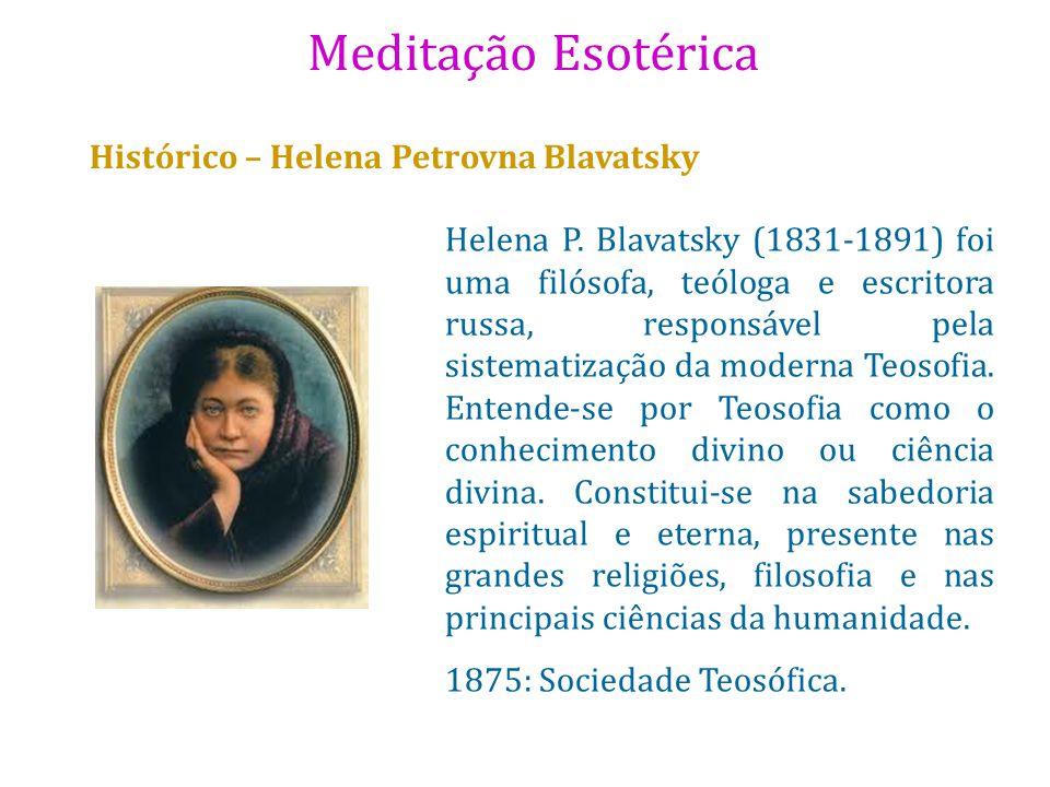 Histórico – Helena Petrovna Blavatsky