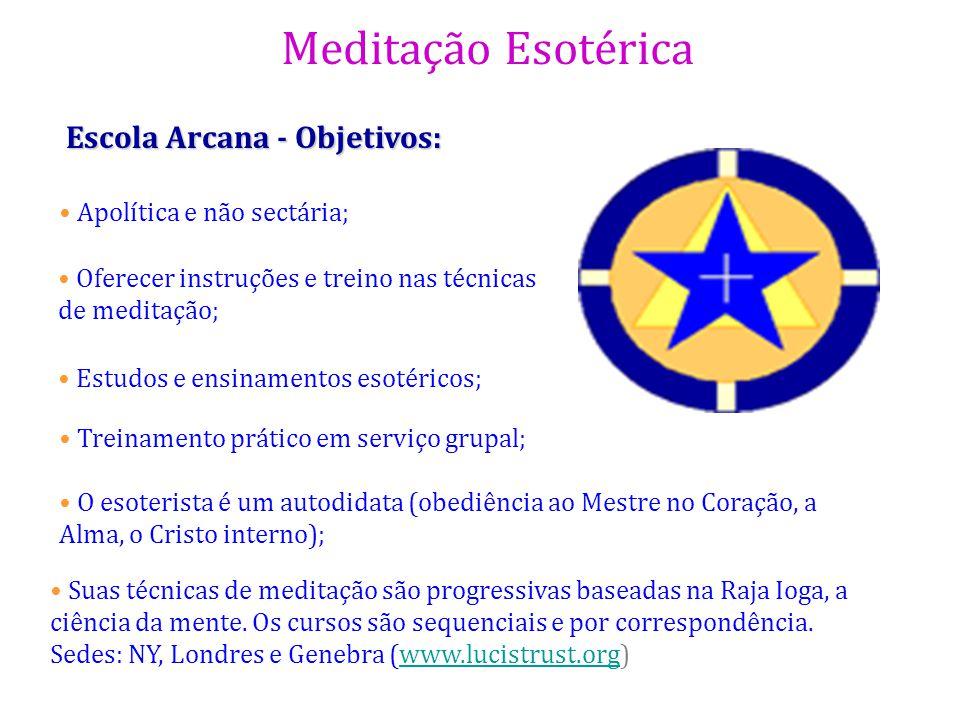 Escola Arcana - Objetivos:
