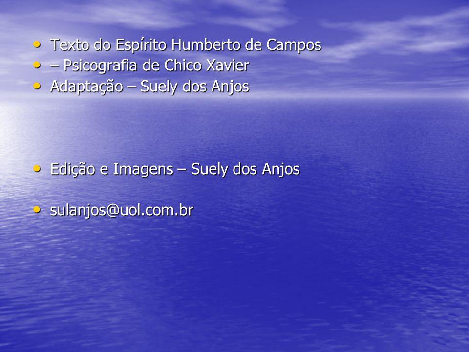 Texto do Espírito Humberto de Campos