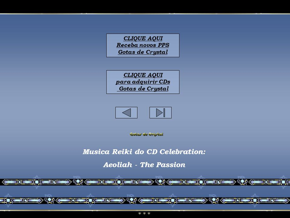 Musica Reiki do CD Celebration: