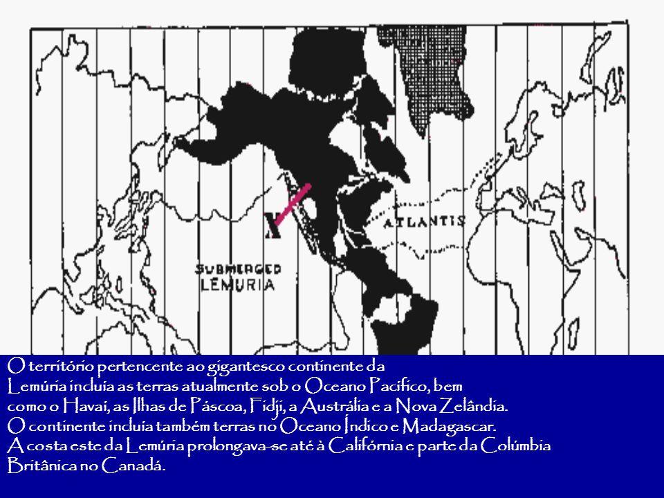 O território pertencente ao gigantesco continente da