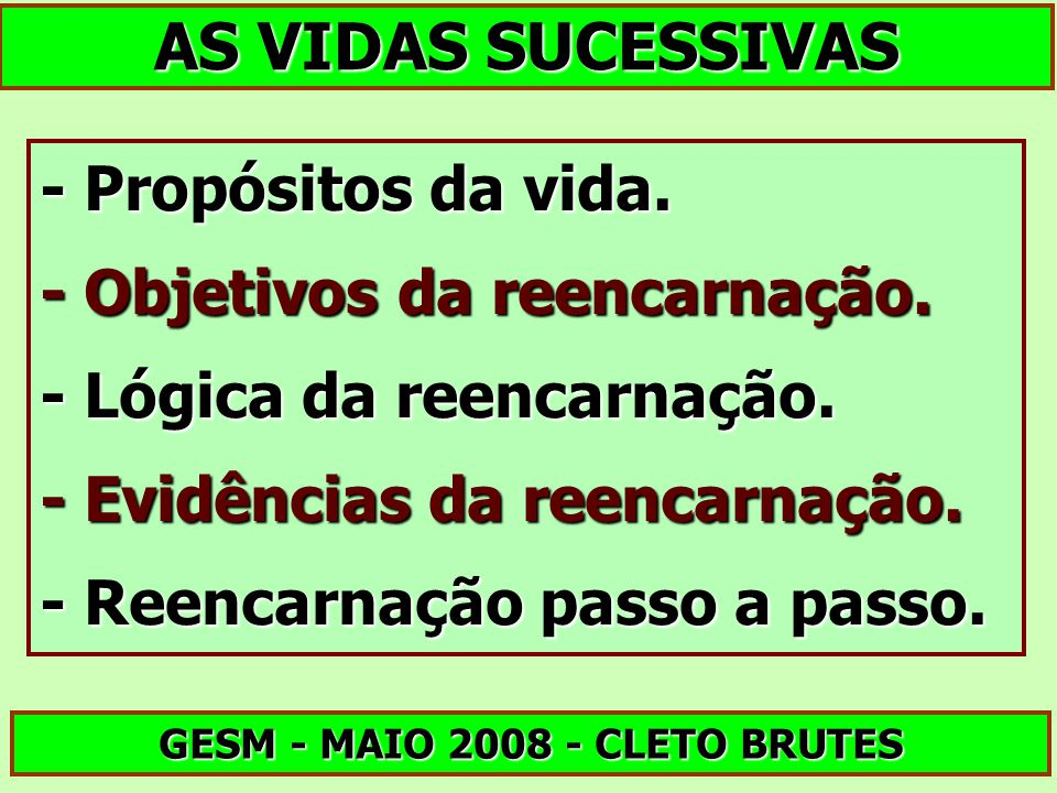 GESM - MAIO 2008 - CLETO BRUTES