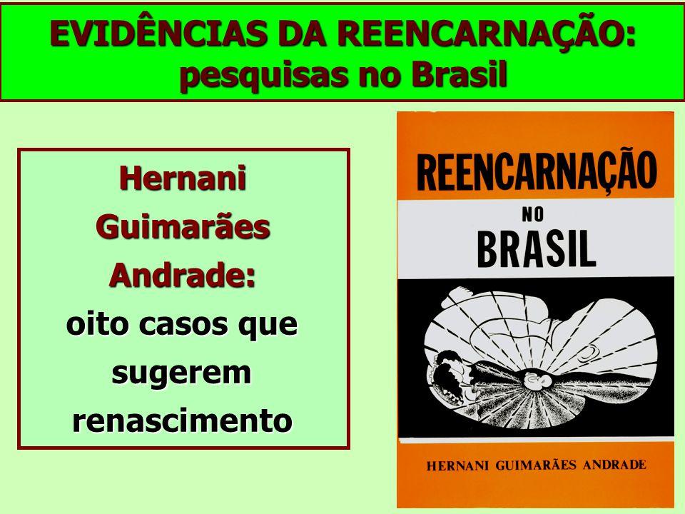 EVIDÊNCIAS DA REENCARNAÇÃO: pesquisas no Brasil