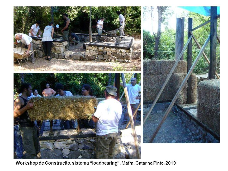 Workshop de Construção, sistema loadbearing , Mafra, Catarina Pinto, 2010
