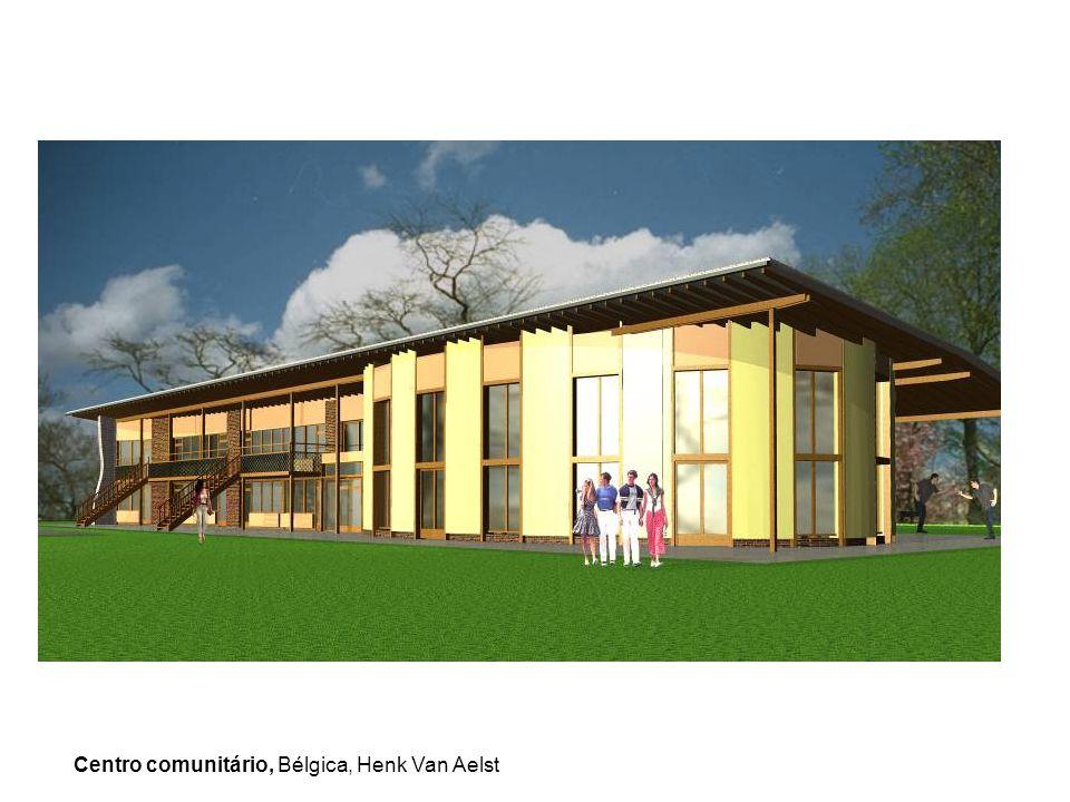 Centro comunitário, Bélgica, Henk Van Aelst