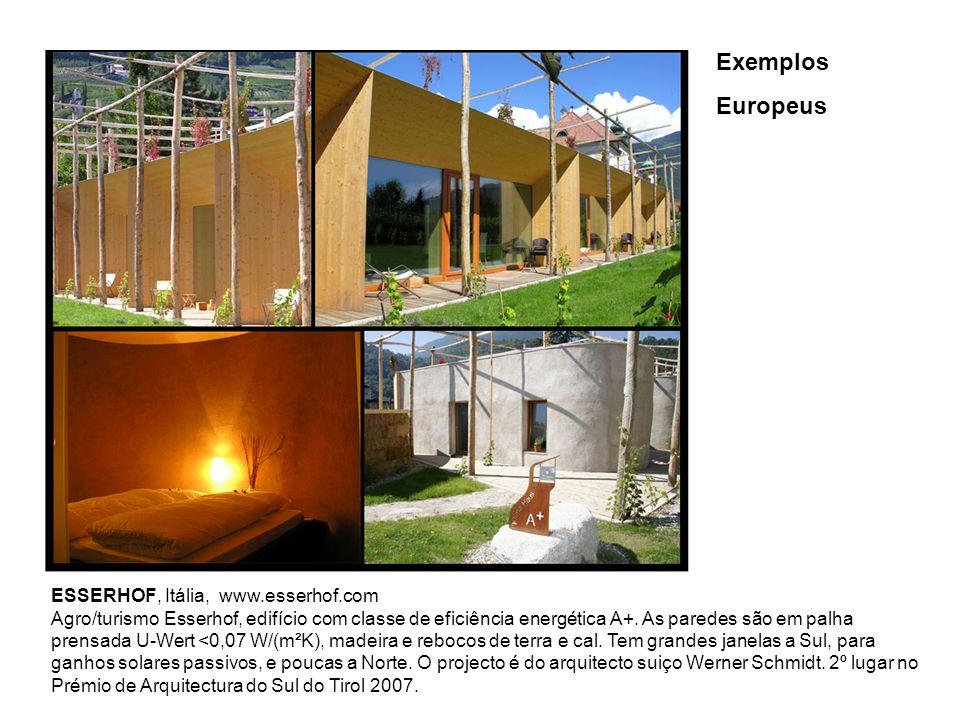 Exemplos Europeus ESSERHOF, Itália, www.esserhof.com