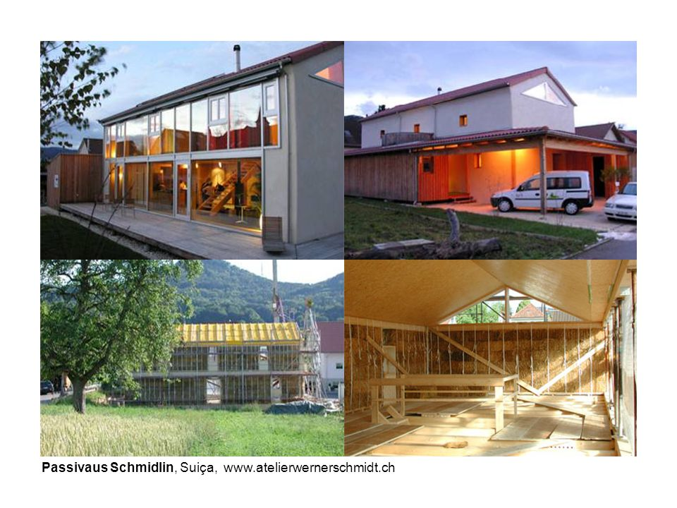 Passivaus Schmidlin, Suiça, www.atelierwernerschmidt.ch