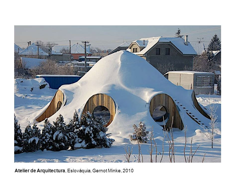Atelier de Arquitectura, Eslováquia, Gernot Minke, 2010