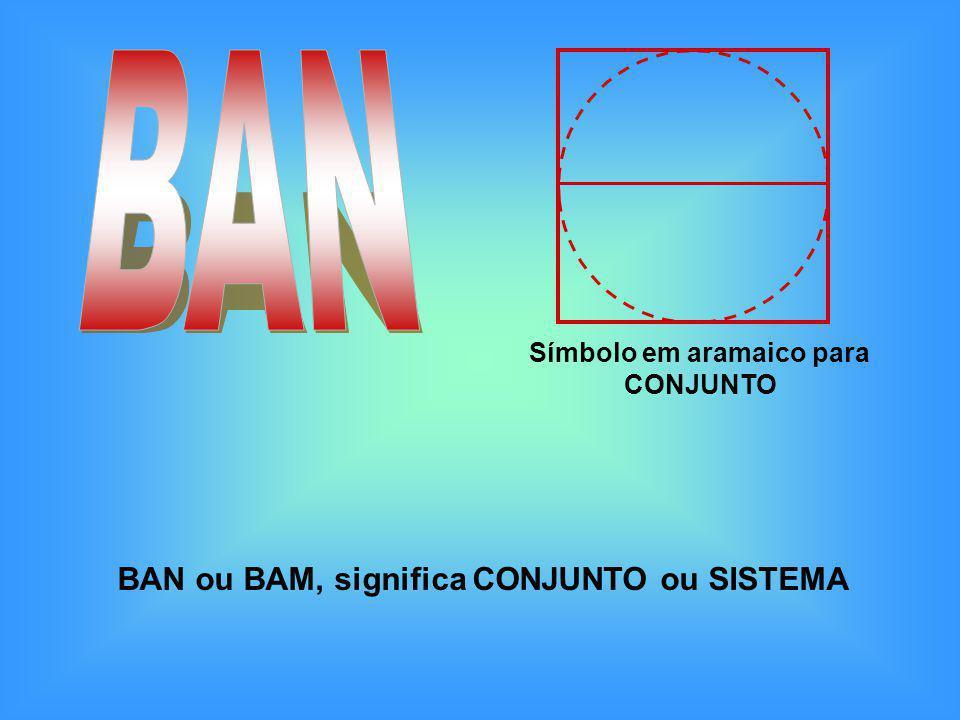 BAN BAN ou BAM, significa CONJUNTO ou SISTEMA