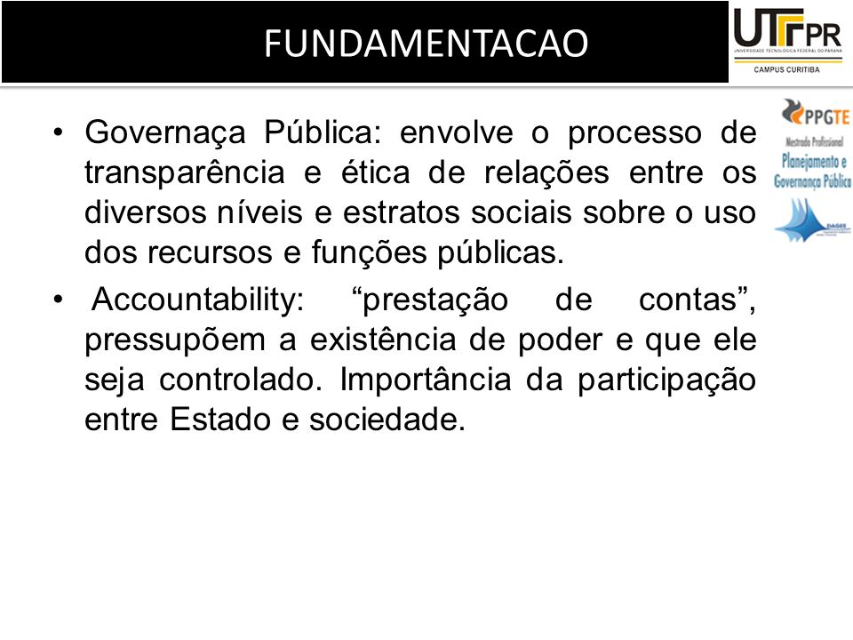 FUNDAMENTACAO