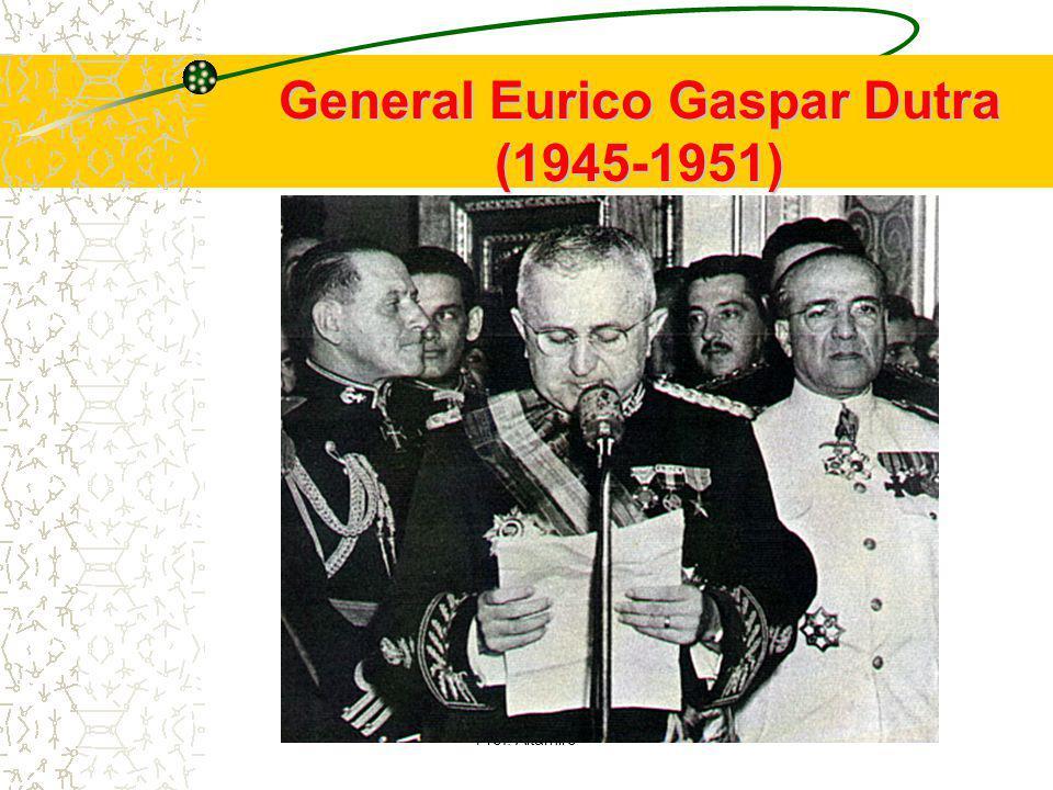 General Eurico Gaspar Dutra (1945-1951)