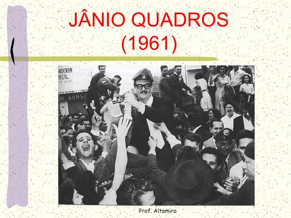JÂNIO QUADROS (1961) Prof. Altamiro