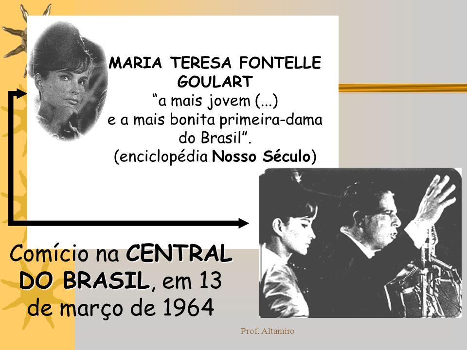 Comício na CENTRAL DO BRASIL, em 13 de março de 1964