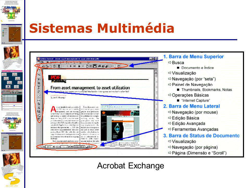 Sistemas Multimédia Acrobat Exchange