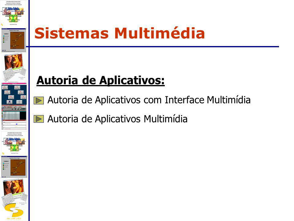 Sistemas Multimédia Autoria de Aplicativos: